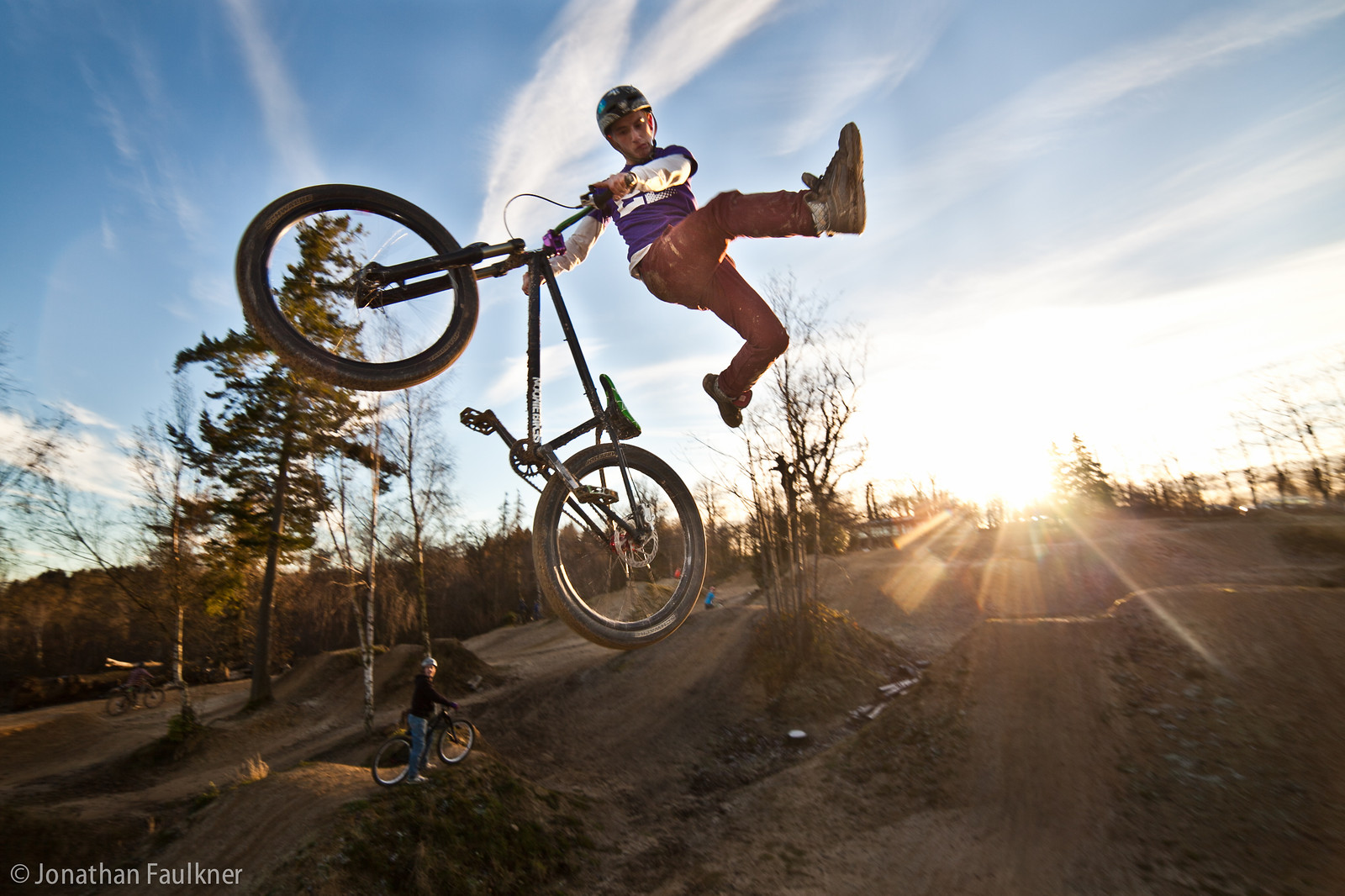 Sunset Can - Jonny Faulkner - Mountain Biking Pictures - Vital MTB