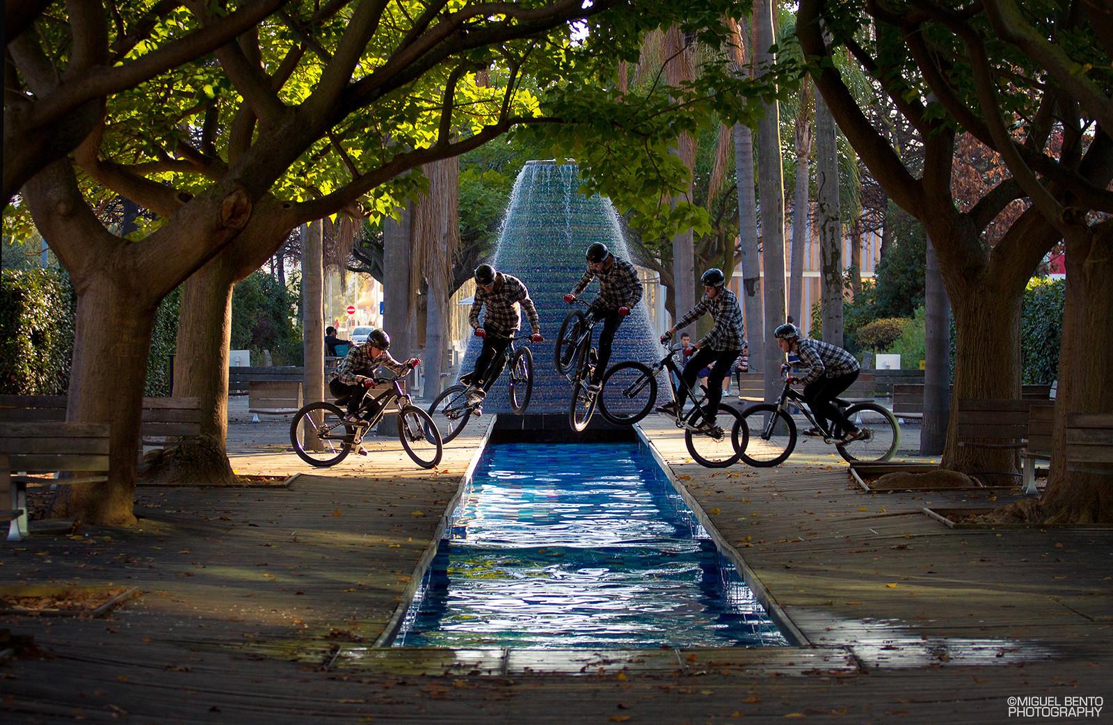 Pedro Dias // Bunnyhop 180 // Parque das Nações - miguelbento - Mountain Biking Pictures - Vital MTB