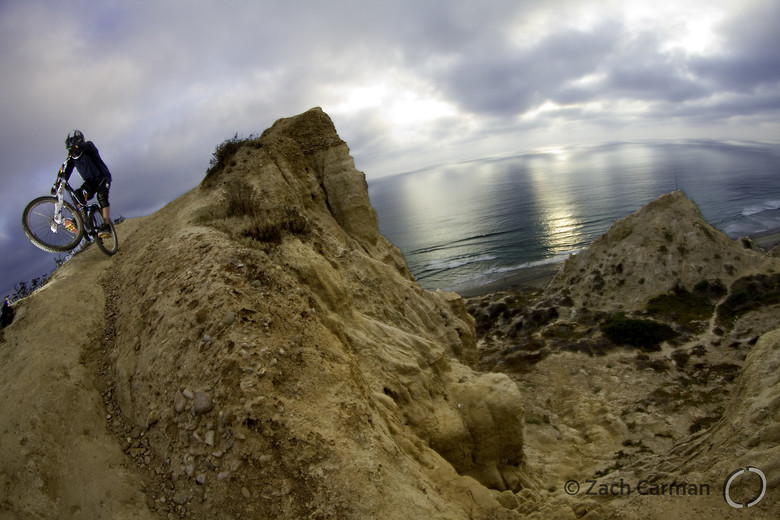 James Visser rides La Jolla, CA - Captures by Carman - Mountain Biking Pictures - Vital MTB