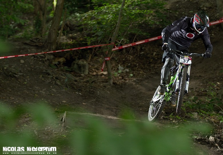 Corentin Balsacq @Namur DH track - born_to_ride - Mountain Biking Pictures - Vital MTB