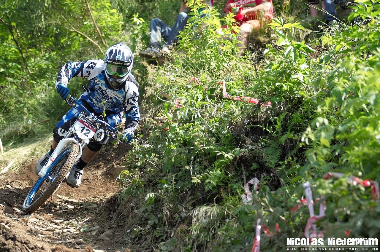 Dave Goris @Belgian Nissan Downhill Cup 2012 - Maboge (Belgium) - born_to_ride - Mountain Biking Pictures - Vital MTB