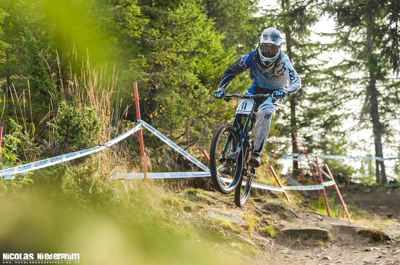 "Andrew ""Needles"" Neethling @Hafjell (Norway) Downhill World Cup 2012 - born_to_ride - Mountain Biking Pictures - Vital MTB"