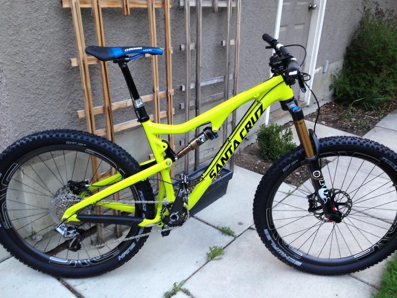 santa cruz bronson carbon kbosss bike check vital mtb