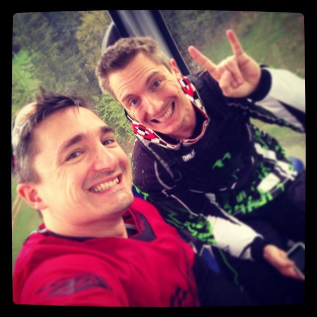 Nono and me - gilles.pfeiffer - Mountain Biking Pictures - Vital MTB