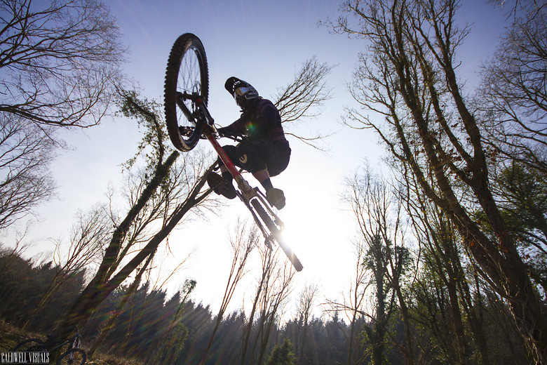 Bradshaw soaring above - CaldwellVisuals - Mountain Biking Pictures - Vital MTB