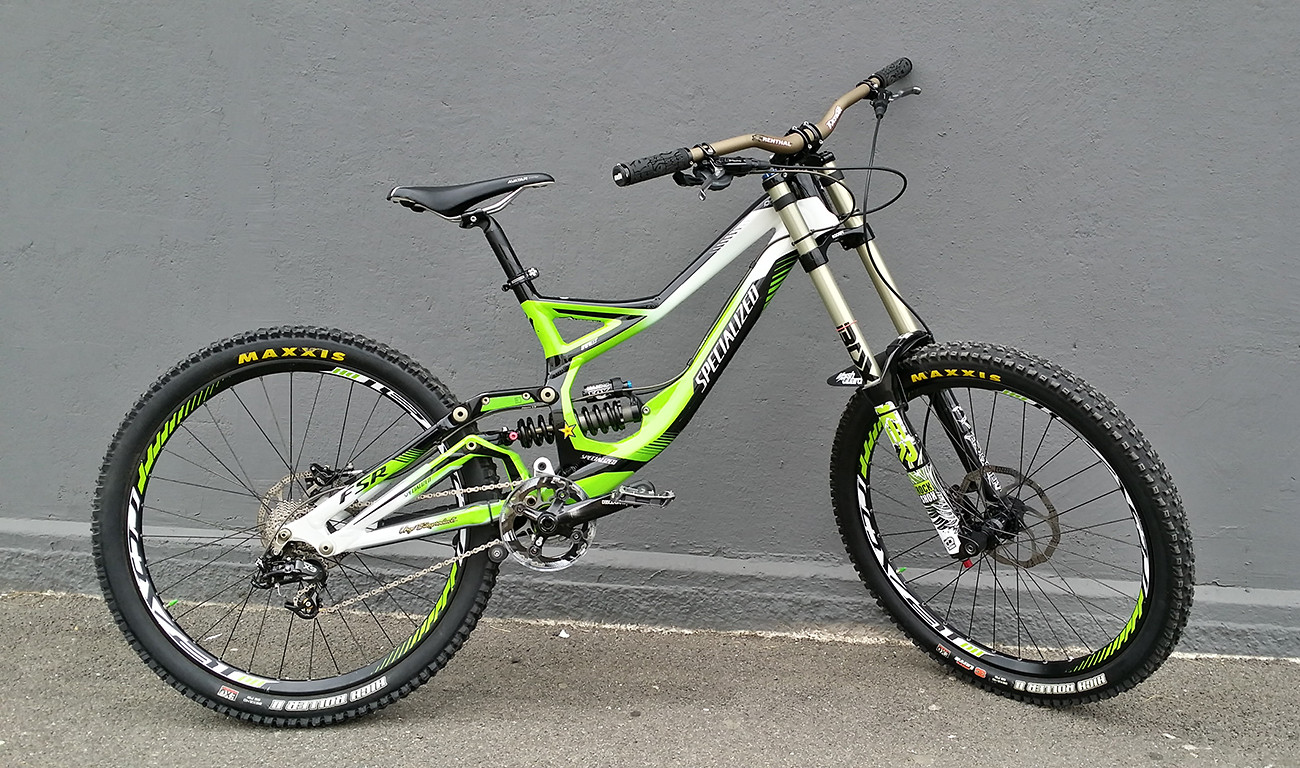 Specialized demo 8 i 2012 bike check for 820 12