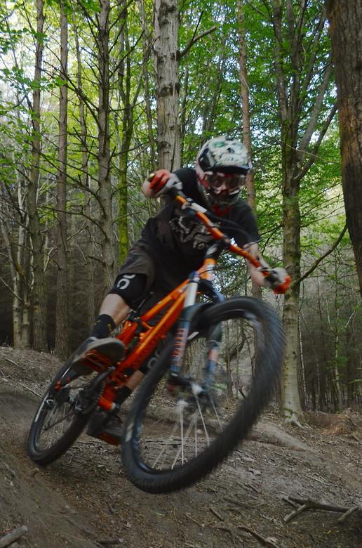 Chris Rippin Berm - adam.pagett - Mountain Biking Pictures - Vital MTB