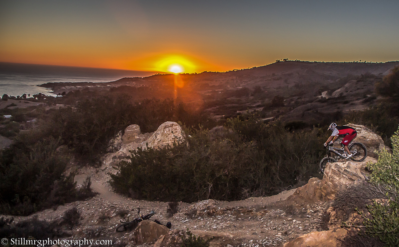 California Sunset - Stillmrg Photography - Mountain Biking Pictures - Vital MTB