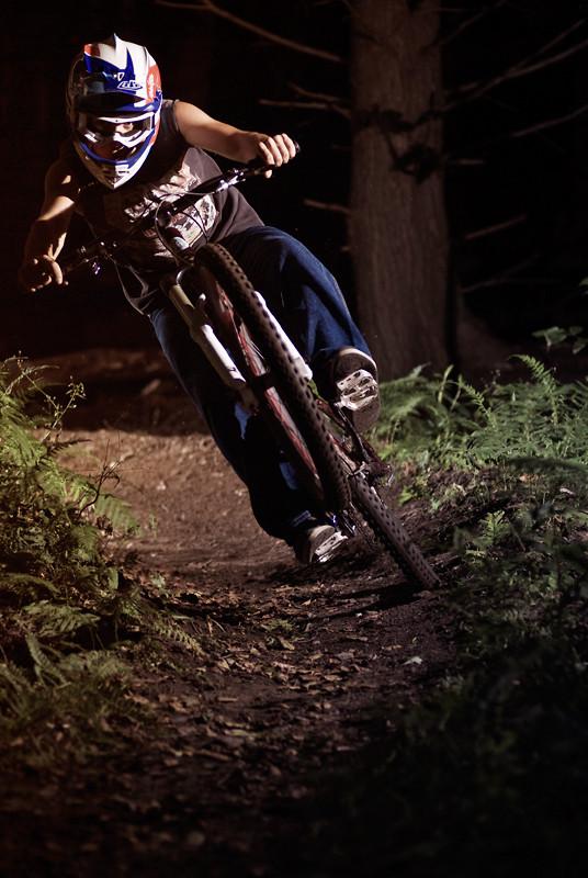 Dylan Conte Stowe School Corner - GossPhoto - Mountain Biking Pictures - Vital MTB