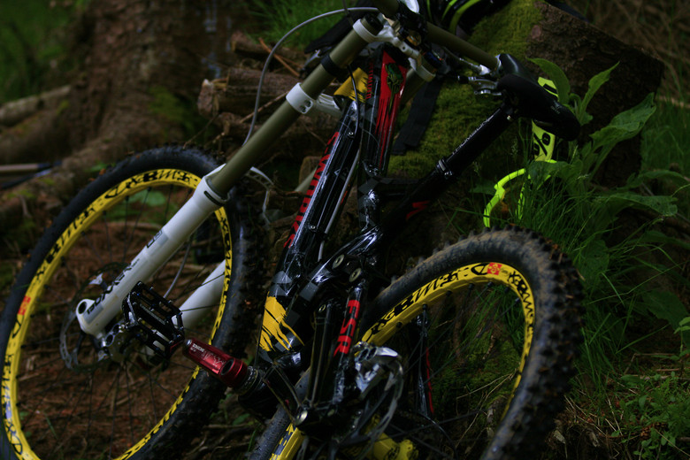 Specialized Demo 8 2013 Carbon Custom S Works James T