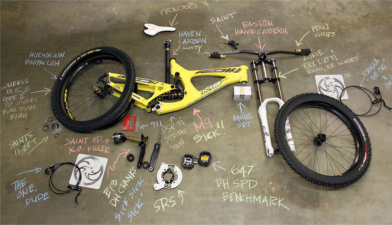 M9 Bike Check.  - ozzer - Mountain Biking Pictures - Vital MTB