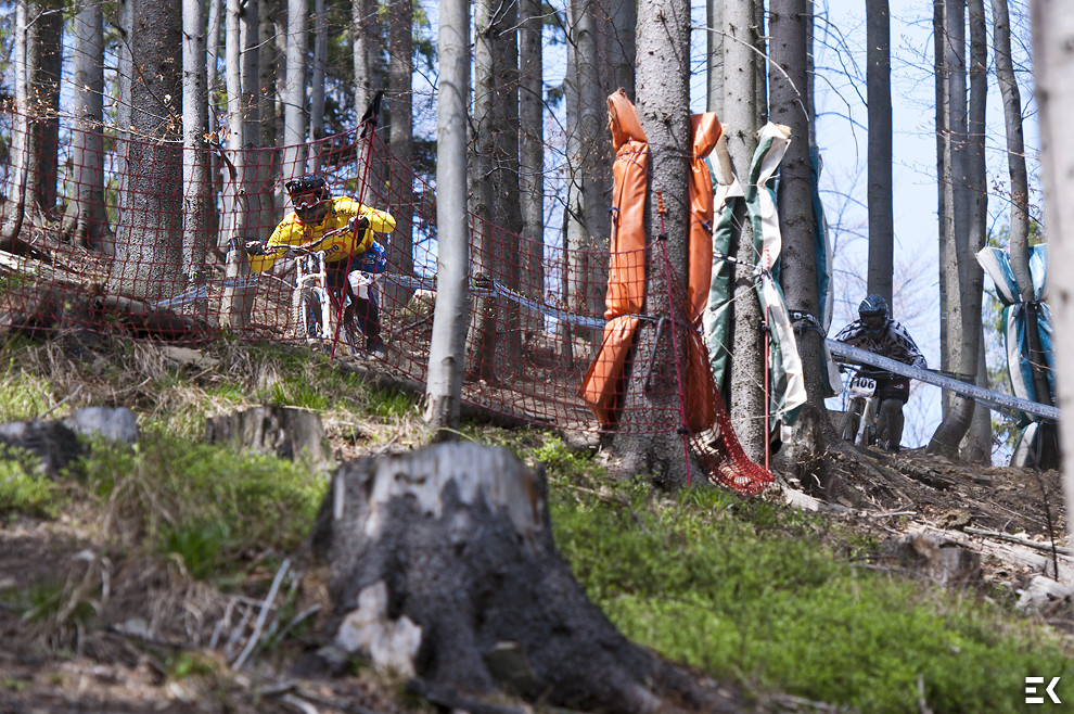 DH Contest at Wisła - Ewa.Kania - Mountain Biking Pictures - Vital MTB