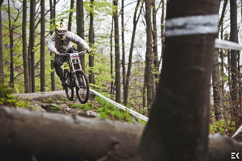 Training in the rain in Wisła - Ewa.Kania - Mountain Biking Pictures - Vital MTB