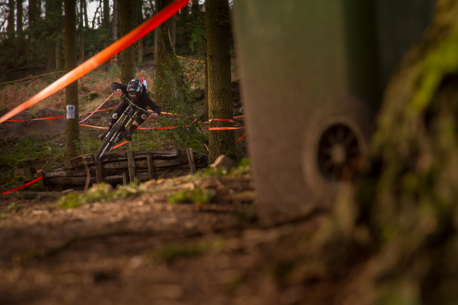 George Turnbull pinning it! - Visual Elements - Mountain Biking Pictures - Vital MTB