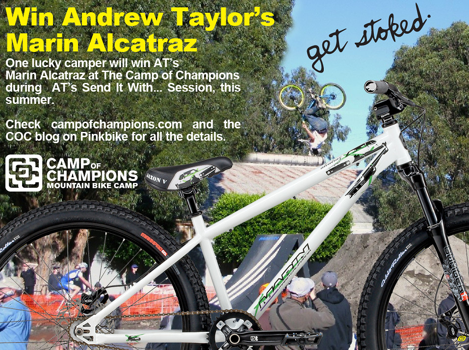 Win AT's Bike At The Camp of Champions - Camp of Champions - Mountain Biking Pictures - Vital MTB