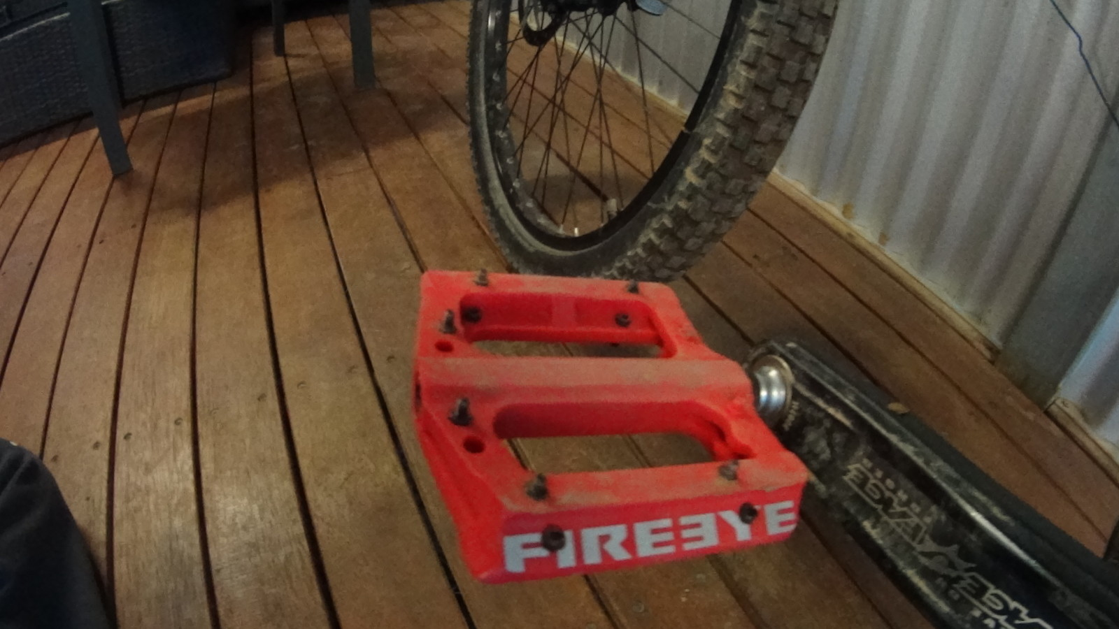 Fire eye pedals  - Thomas McGillivray - Mountain Biking Pictures - Vital MTB