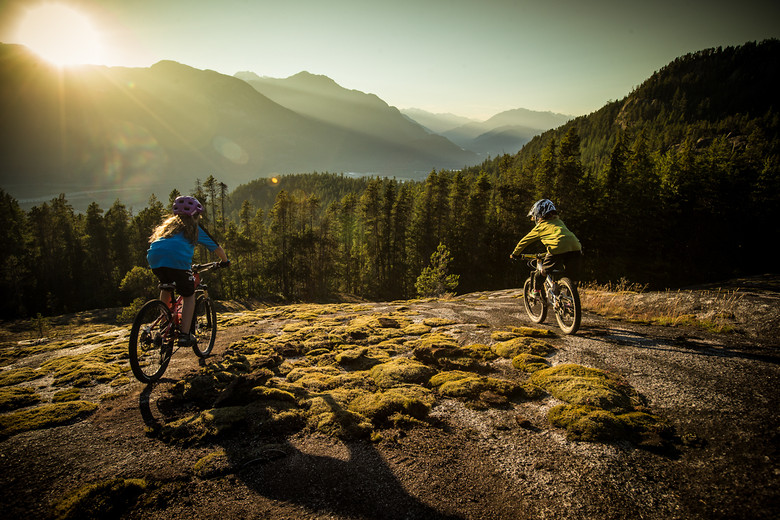 Jackson and Bailey Goldstone above Squamish - BGoldstone - Mountain Biking Pictures - Vital MTB