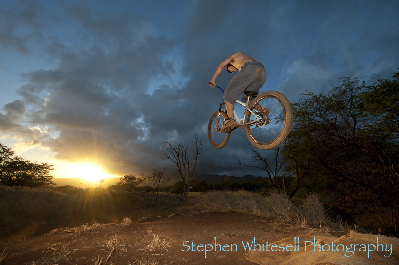 Koko Head Sunset - Whitesell - Mountain Biking Pictures - Vital MTB