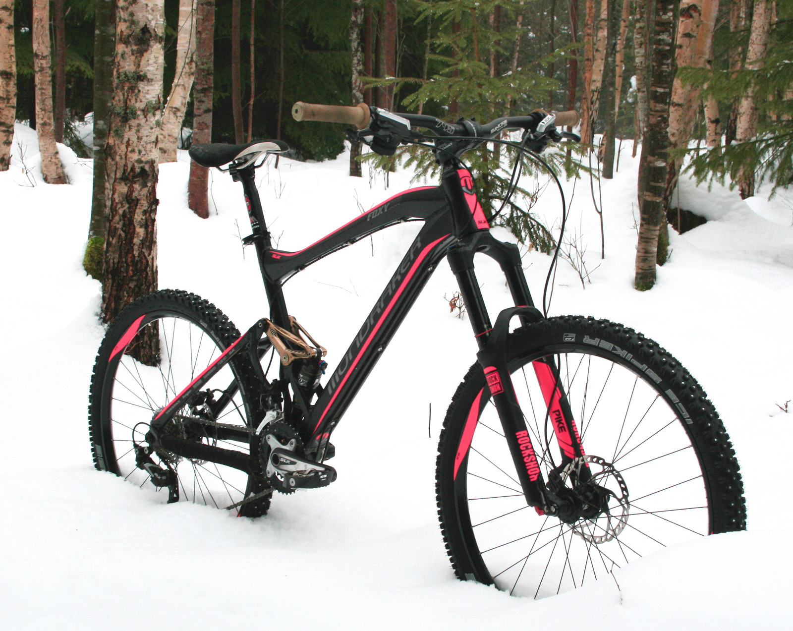 Custom Mondraker Foxy Rr By Slik Graphics Winter Neon