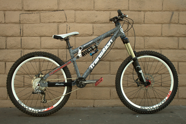 2010 Transition BottleRocket with the Truvativ Hammerschmidt! Thank you Cycle World for making this possible :)