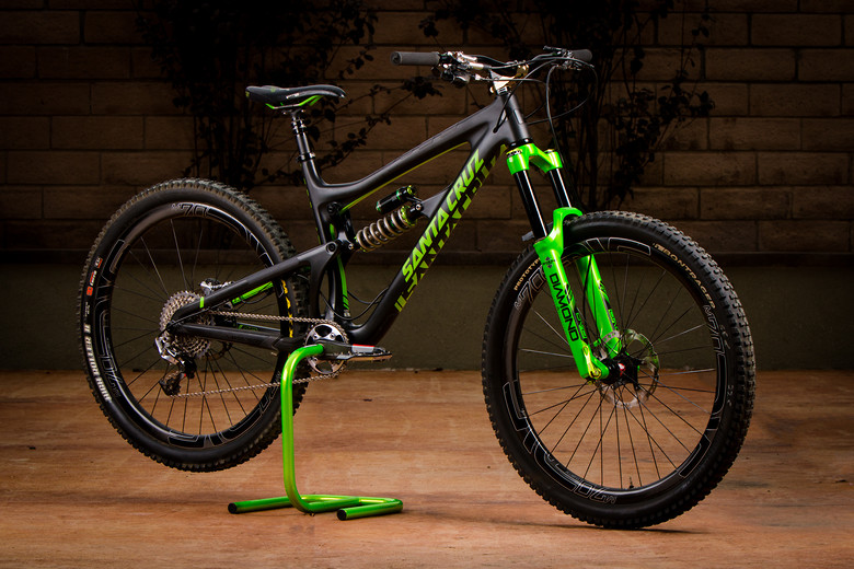 Santa Cruz Carbon Nomad Dvo Edition Mikelord S Bike Check