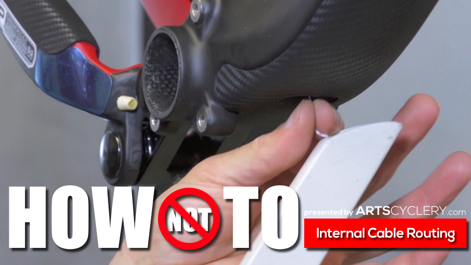How To Internal Routing With Art S Cyclery Mountain