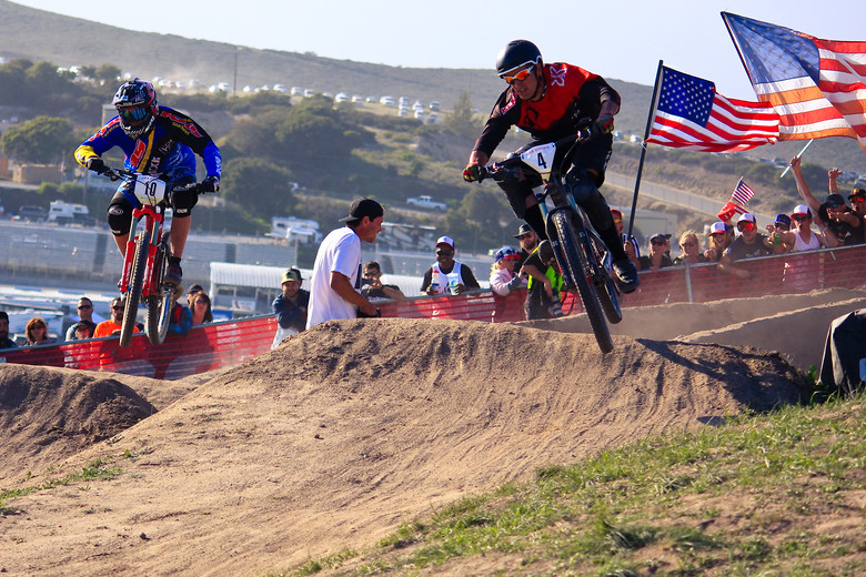 Dual Slalom - Sam Adams - Mountain Biking Pictures - Vital MTB