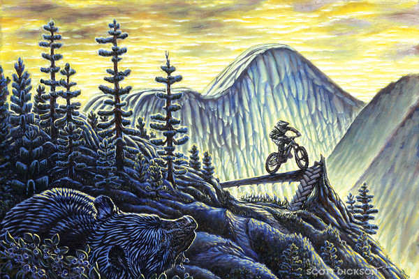 greg's dream - scottdicksonart - Mountain Biking Pictures - Vital MTB