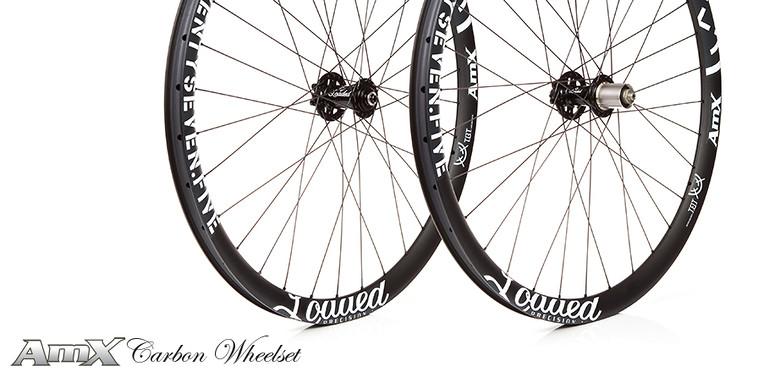 AmX Carbon Wheelset - Loaded Precision - Mountain Biking Pictures - Vital MTB