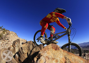 2013 Nevada State DH Race @ Bootleg Canyon.