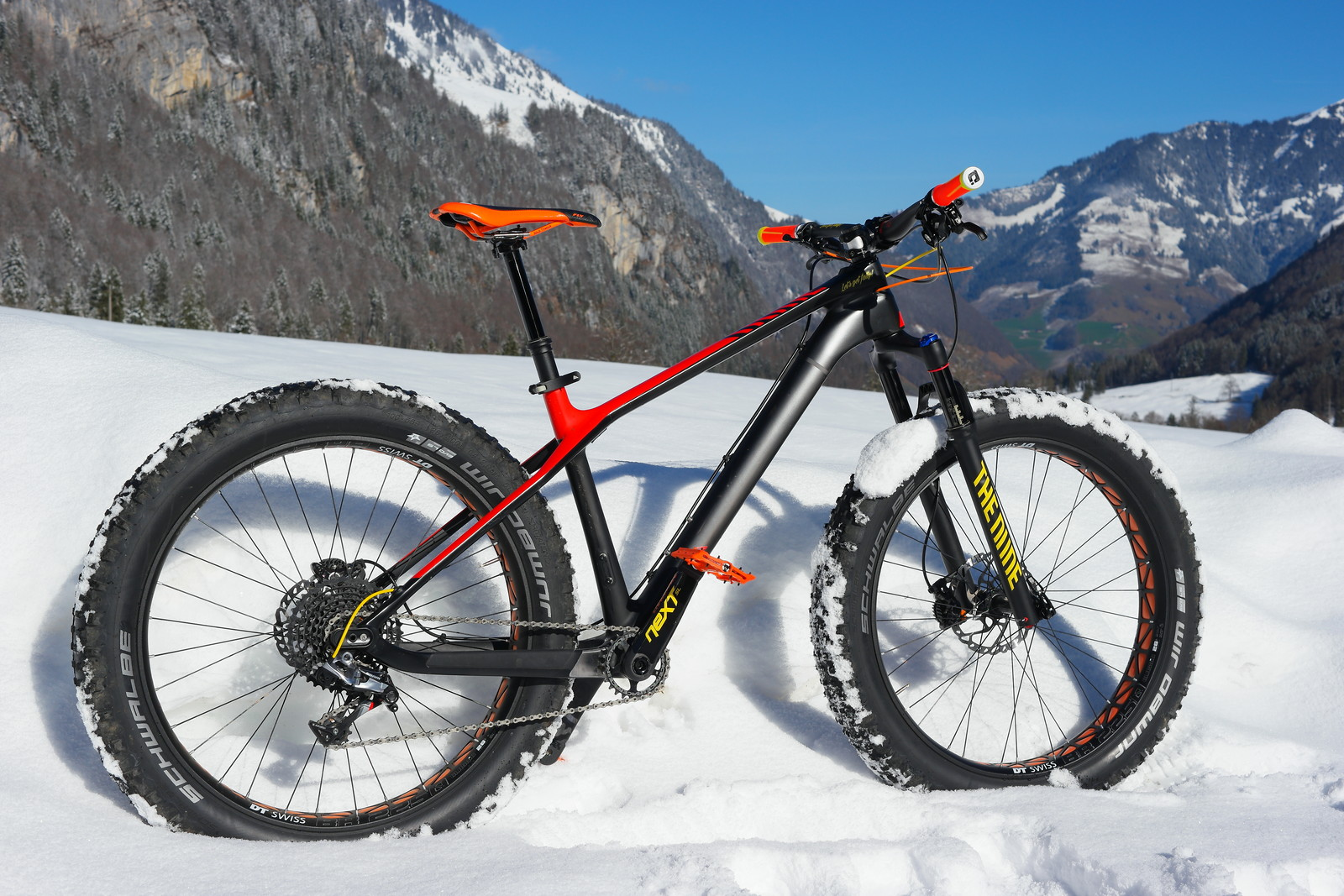 canyon the dude let 39 s get fatty edition yeti116 39 s bike. Black Bedroom Furniture Sets. Home Design Ideas
