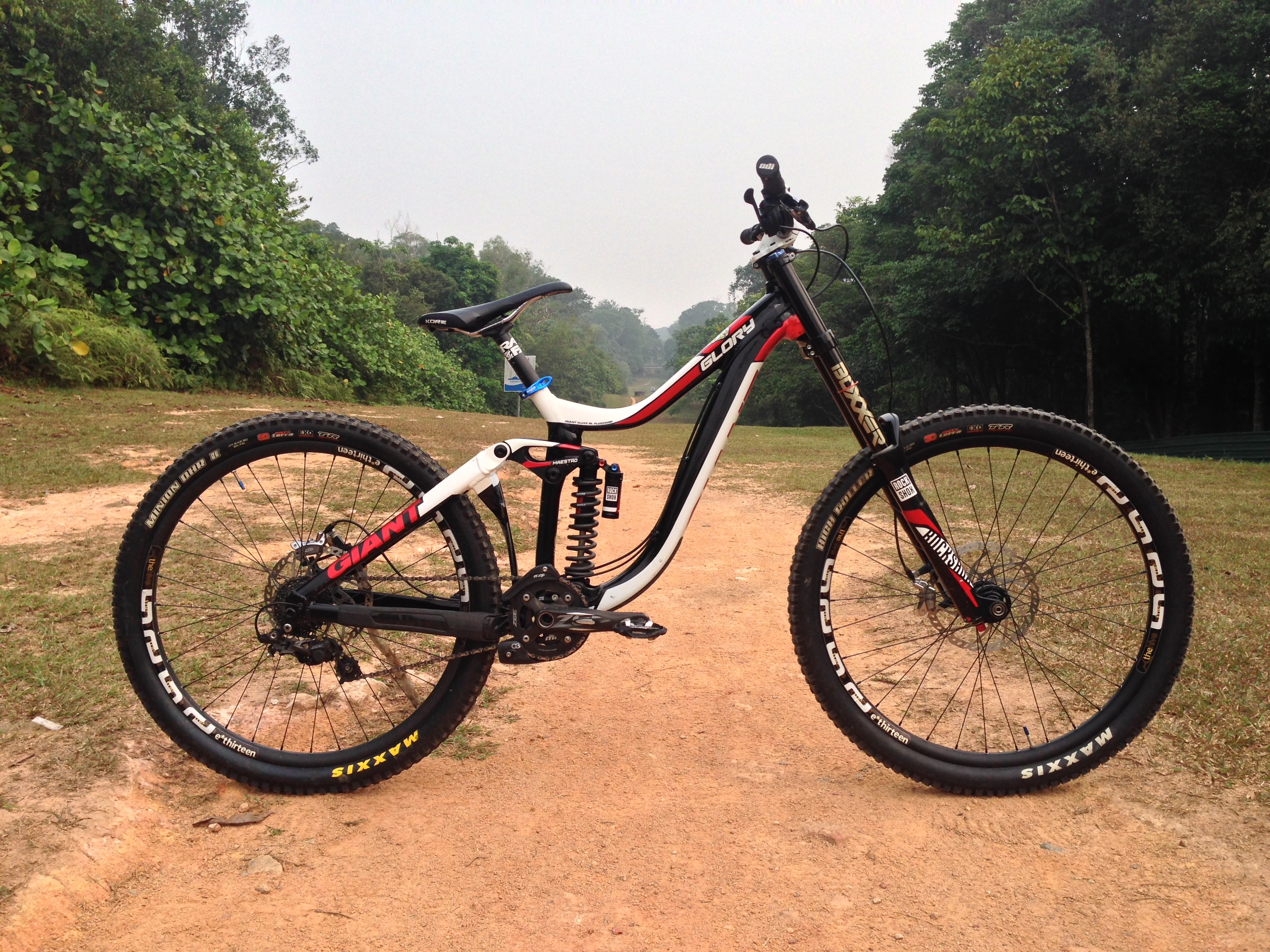 Giant Glory 1 2015 - Wanperry's Bike Check - Vital MTB
