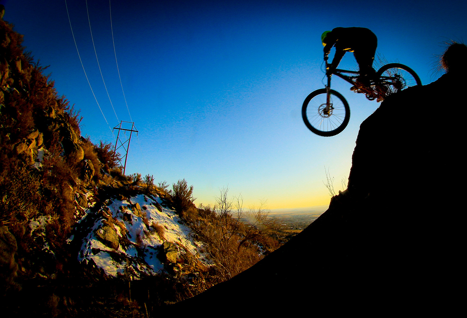 Nothing Drop - edged - jerryhazard - Mountain Biking Pictures - Vital MTB