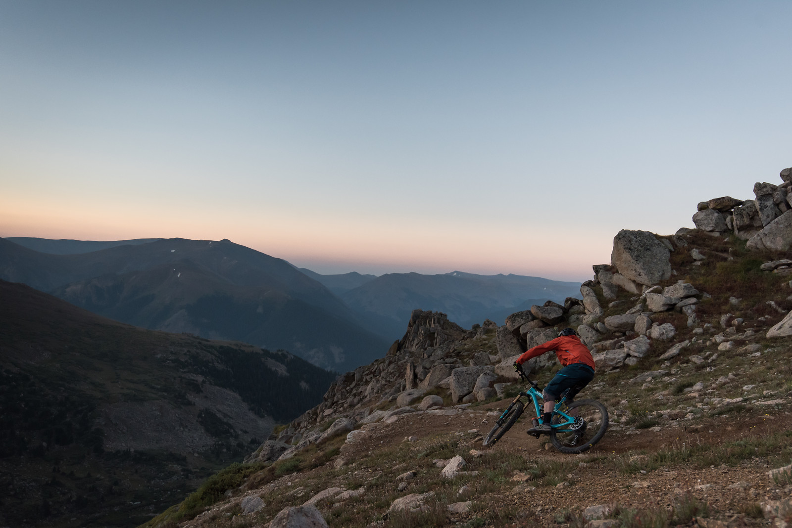 Alpine Sunrise Selfie - russellpj - Mountain Biking Pictures - Vital MTB