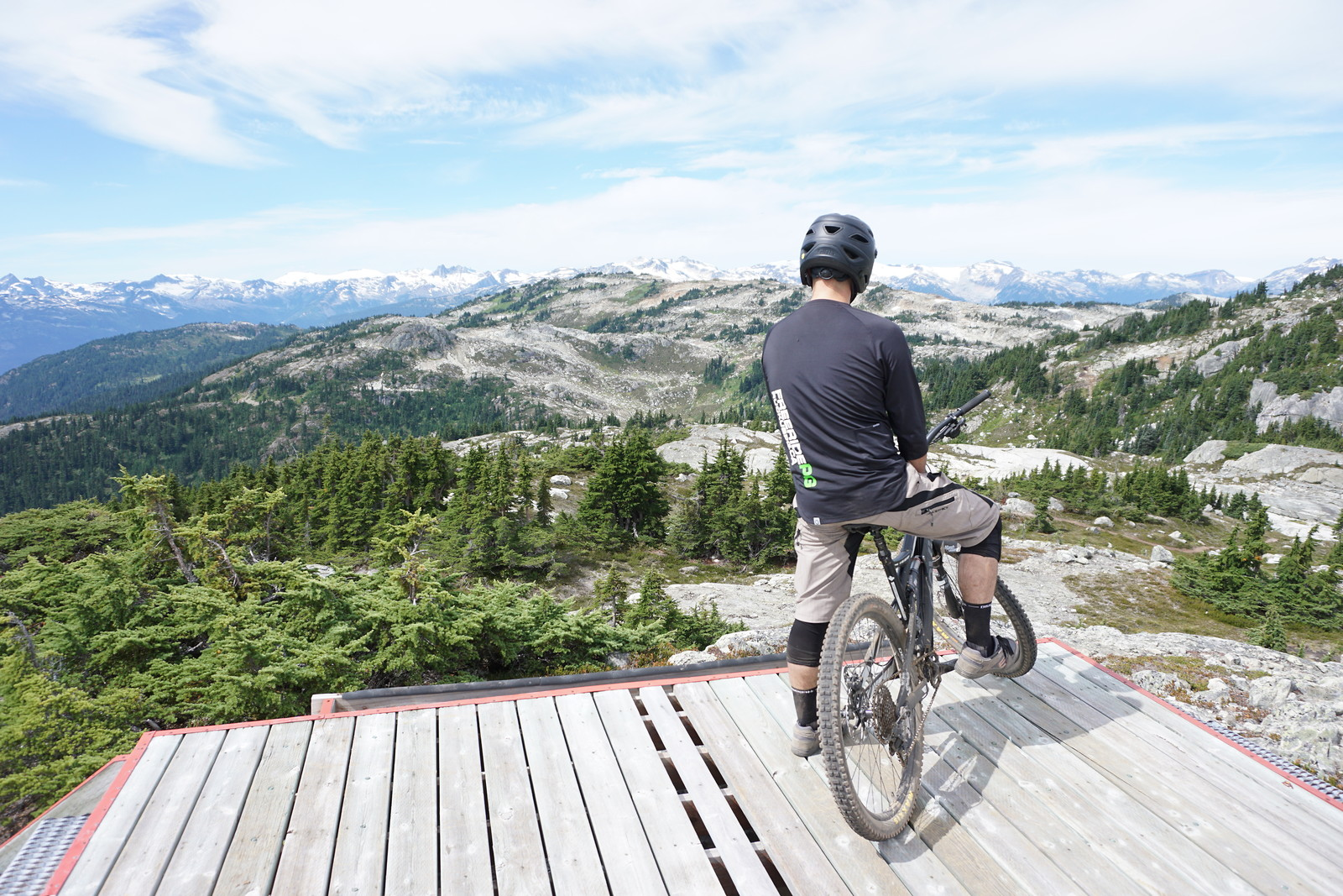 Whistler Happy hour look out - Graeme.paterson - Mountain Biking Pictures - Vital MTB