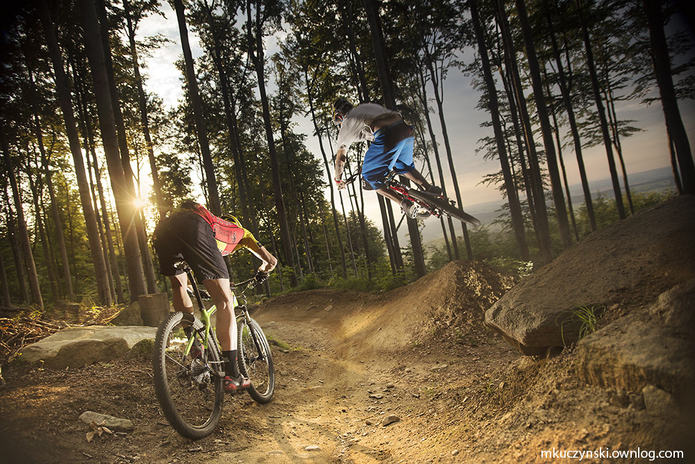 fun on Super Flow trail - Piotr_Szwed Szwedowski - Mountain Biking Pictures - Vital MTB
