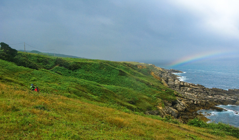 Rainbows on the Coast - BasqueMTB - Mountain Biking Pictures - Vital MTB