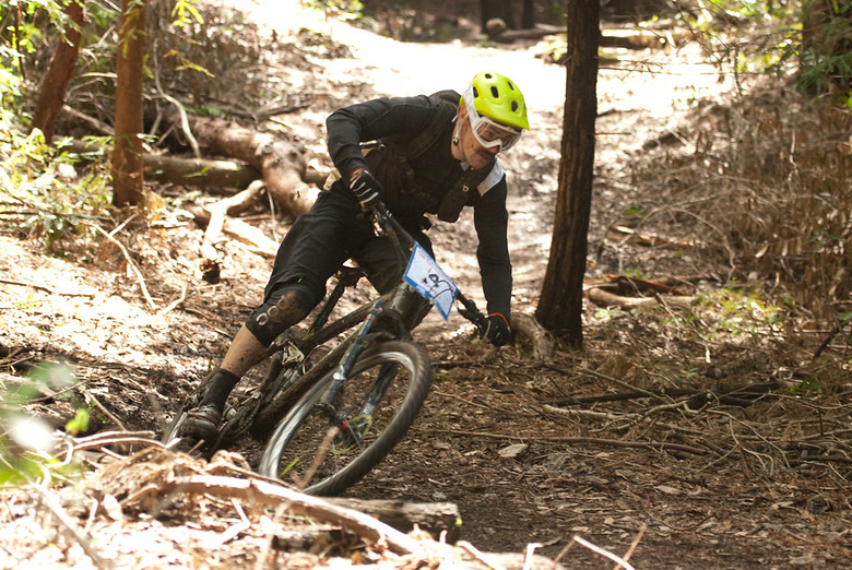 Tom Ritchey, I mean Ross Schnell - dustybermshot - Mountain Biking Pictures - Vital MTB