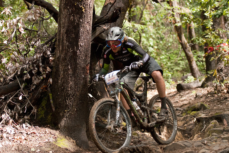 Enduro winner Aaron Bradford on a new bike and a new team in 2012. - dustybermshot - Mountain Biking Pictures - Vital MTB