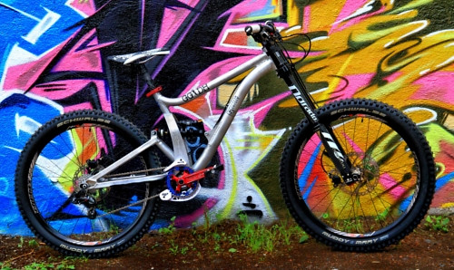 Graffiti I Mean Bike Guerrilla Gravity Mountain Biking