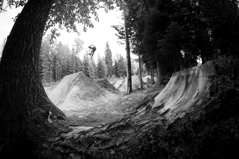 Mike Unturndown River Jumps  - jamieledson - Mountain Biking Pictures - Vital MTB