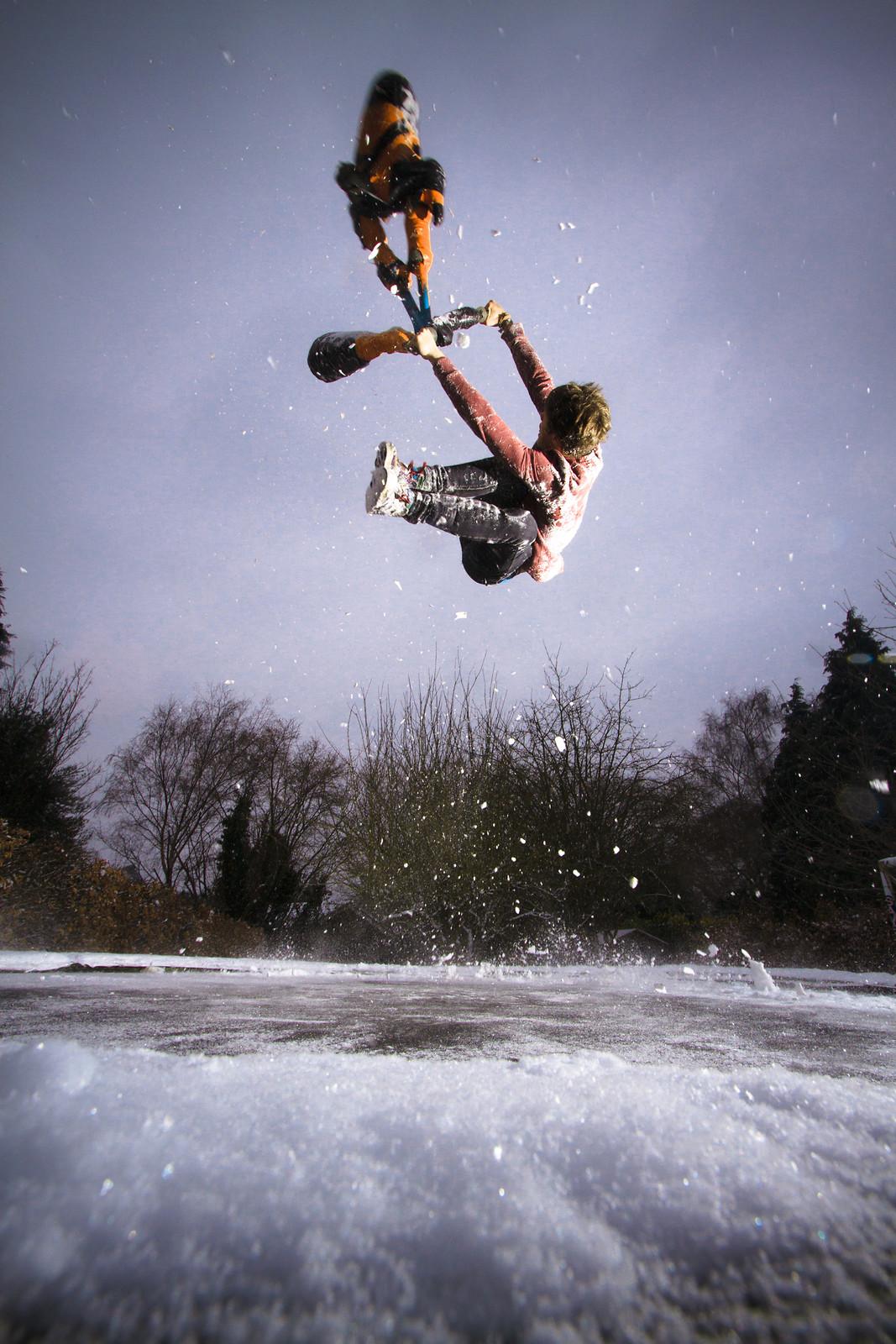 Tim Ledson Snowy Flipwhip - jamieledson - Mountain Biking Pictures - Vital MTB