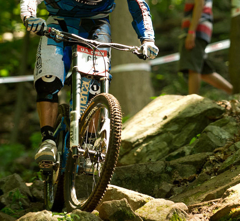 Inverted Fox DH Fork - bjenson - Mountain Biking Pictures - Vital MTB