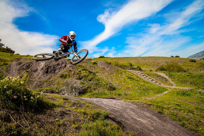 Kory Foley gets it sideways  - GnarHuck - Mountain Biking Pictures - Vital MTB