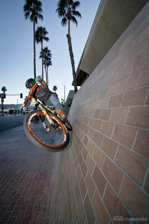 Close up wall ride - EdwardsEntertainment - Mountain Biking Pictures - Vital MTB