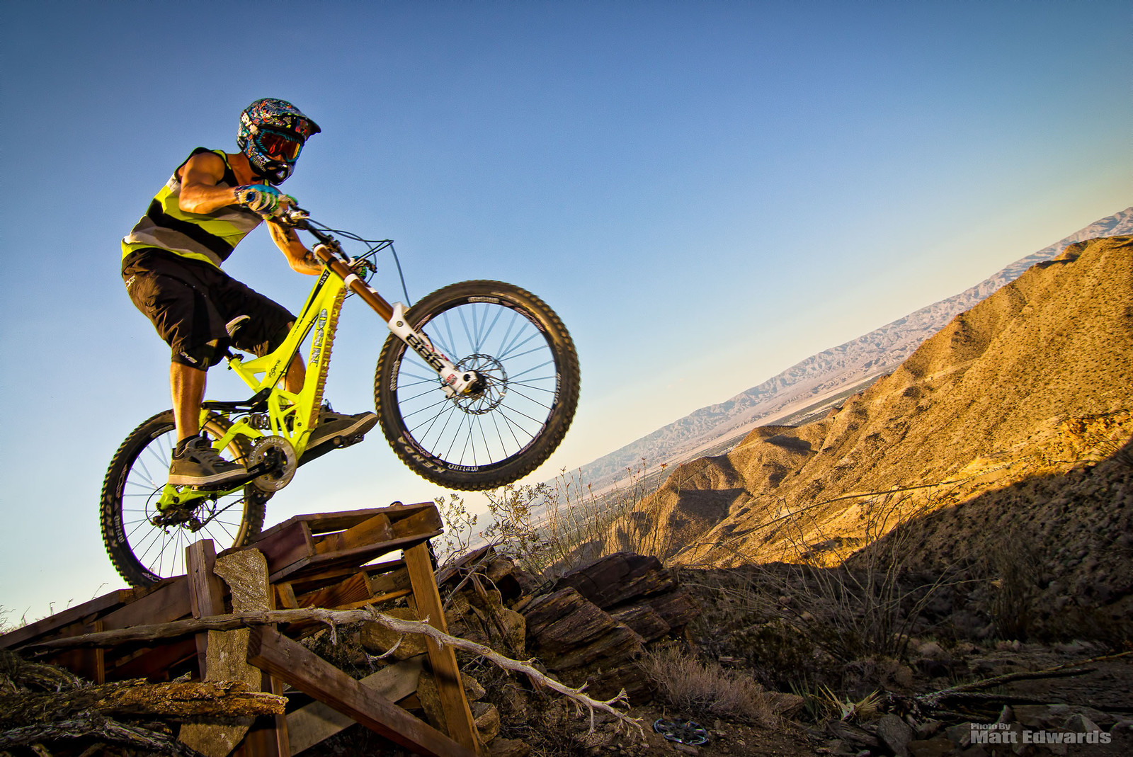 Ladder Drop - EdwardsEntertainment - Mountain Biking Pictures - Vital MTB
