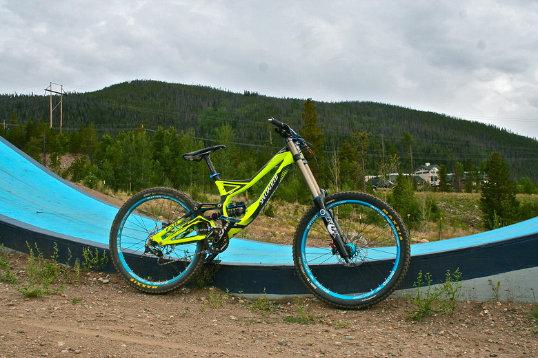 2011 Demo 8 at Frisco Bike Park, drive side