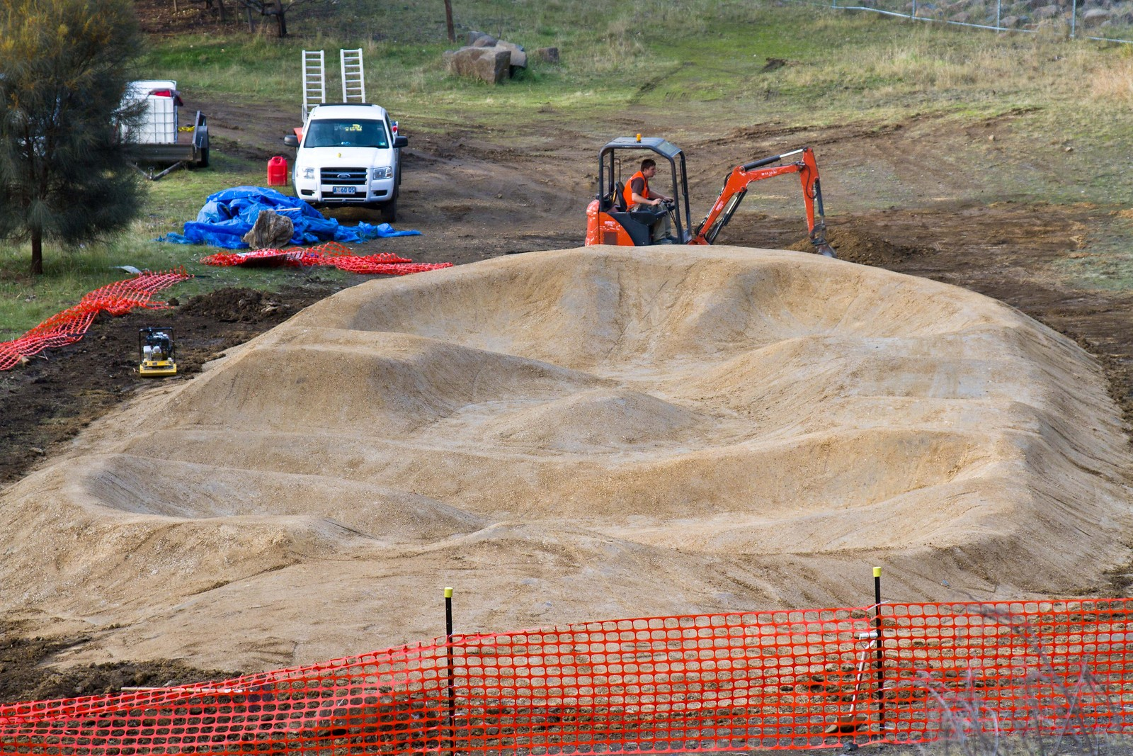 DirtArt Water works pumptrack - FourHills - Mountain Biking Pictures - Vital MTB