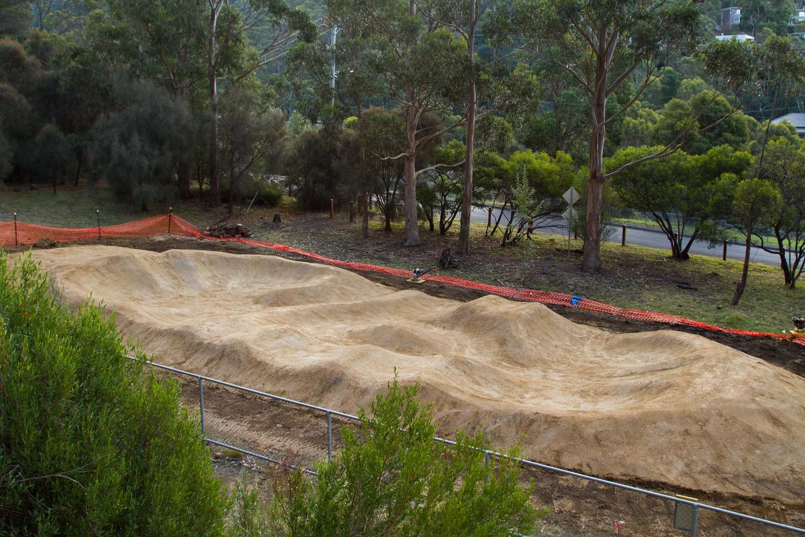 dirtart water works pumptrack fourhills mountain biking