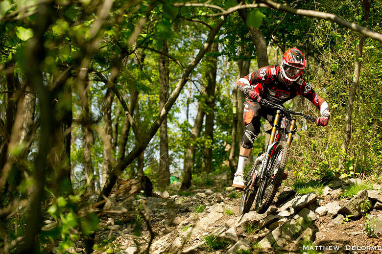 Upper Rock Section - mdelorme - Mountain Biking Pictures - Vital MTB